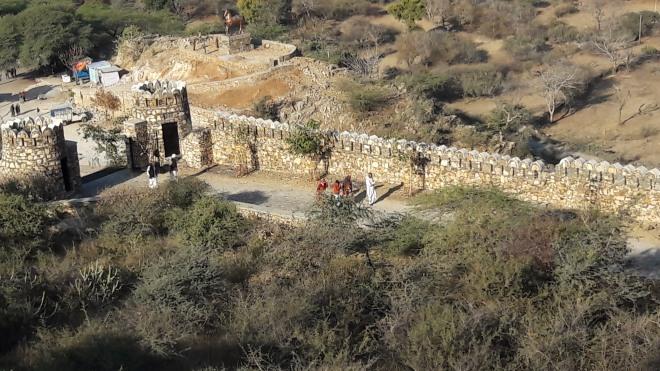 Haldighai fort